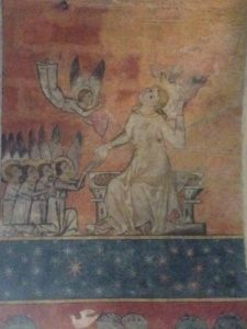 13th century fresco