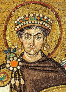 Mosaic of Justinianus