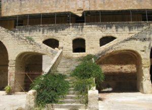 Malta Lazaretto Entrance