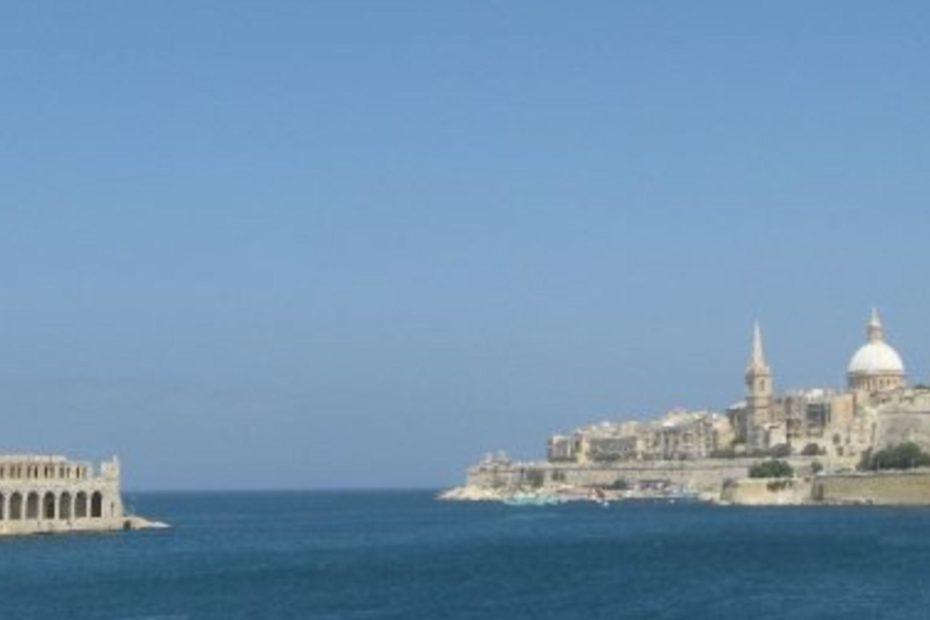 Malta lazaretto exterior Valetta