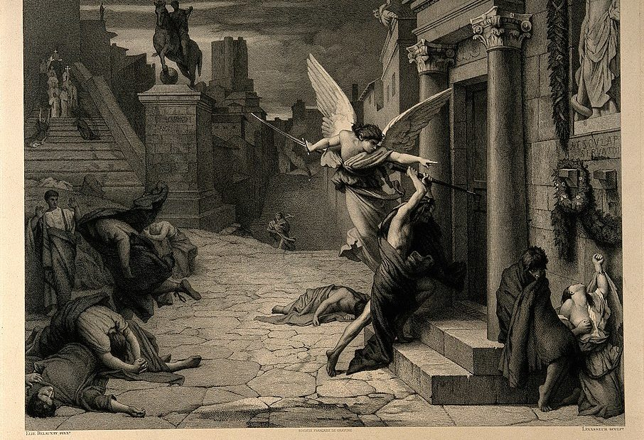 Angel of death - Plague Rome