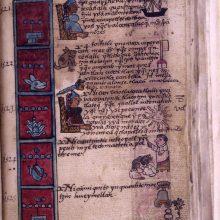 Cuitlhuacs death - of smallpox Codex Aubin